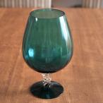 《アンティーク》ミッドセンチュリー ガラス花器 《ビンテージ/vintage/ヴィンテージ/イギリス/ベース/花瓶》