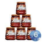 【箱入りセットでお買い得】Sacla/サクラ社 南イタリア産プラムトマトのアル・フォルノ&ケッパー・オイル漬け 285g<6本セット>