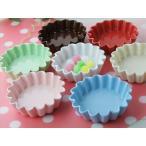 陶製 マドレーヌカップ カラフル 選べる7色 陶製/食器/浅小鉢/ココット/ 日本製/美濃焼-鉢 -ボウル