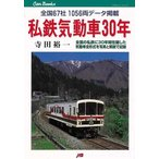 ショッピング鉄道 私鉄気動車30年/新品/バーゲンブック