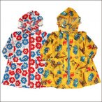 ショッピング子供服 22-2-e.f  お花/働く車 ファスナー レインコート  レインコード ジュニア キッズ 雨具 男の子 女の子 BOYS GIRLS キッズ KIDS 子供用 子供服  Kids For