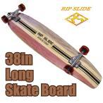 リップスライド RIP SLIDE  38インチ スケートボード レッド 20095 20095