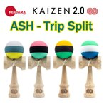 KENDAMA USA けん玉 KAIZEN2.0(改善2.0)アッシュ トリップスプリット