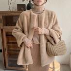 コート 毛皮コート ファー ジャケット レディース 冬 20代 30代 40代 もこもこ 暖かい フェイクファー 毛皮ジャケット 韓国風 アウター 上品 着痩せ