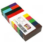 ドミノ 積み木 天然木 木製 カラフル 12色 100個 知育 おもちゃ (ギミック・仕掛け 別売)