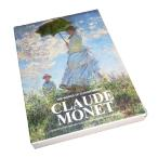 モネ モネ画集 世界の名画 はがきサイズ カード30枚 日傘を差す女 モネ夫人 睡蓮