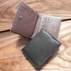期間限定SALE 本革 シュリンクレザー コンパクト二つ折財布 s407 コインケース   送料無料
