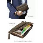 Second Bag, Pouch - 通帳ケース※ストラップは付属しません  送料無料 訳あり品 牛革 スプリットレザー お財布  小物入れ コンパクトクラッチバッグ3039