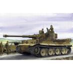 1/35スケールプラモデル WW.II ドイツ軍 ティーガーI 極初期生産型 ドイツアフリカ軍団 第501重戦車大隊 & 第7戦車連隊 1942/43 チュニジア