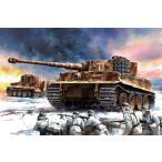 1/35スケールプラモデル WW.II ドイツ  ティーガーI 中期型 第506重戦車大隊 1944 w/ツィメリットコーティング