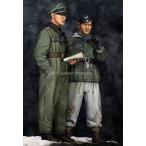 1/35スケールレジンキット ヨアヒム・パイパー&下士官 ハリコフの戦い(2体セット)
