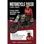 1/35スケール レジン製フィギュアキット MOTORCYCLE RACER 1940〜1950