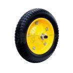 13インチ PU ノーパンクタイヤ 軸棒付 C13-PU タホ 3.25/3.00-8 一輪車 ネコ 玉押し用 替えタイヤ