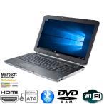 ショッピングOffice 一台限定 Office付 中古ノートパソコンDELL E5520 Corei5-2430-2.4GHz 4GB 320GB テンキ−付 wifi有 Windows 10 Home 64bit 送料無料
