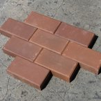 レンガ ブロックレンガ チョコレート 50個セット 送料無料 庭 敷き レンガ