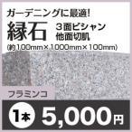 縁石/フラミンコ 3面ビシャン