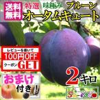 特選  高級生プルーン オータムキュート 減農薬 長野県産 2キロ レビューを書いたら200円クーポン
