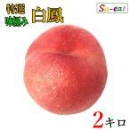 特選 白鳳   桃  減農薬 長野県産 2キロ レビューを書いたらオマケと200円クーポン