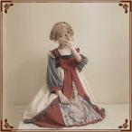 チャイナ風ドレス 中国神話 民族風 かわいい S 水彩画 総レース