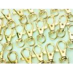 ショッピングストラップ パーツ ナスカン ゴールド 38mm 20個 金 回転フック アクセサリー キーホルダー ストラップ パーツ ハンドメイド 金具(AP0090)