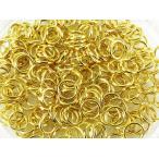 ショッピングストラップ パーツ 丸カン ゴールド 5mm 200個 マルカン 金 アクセサリー キーホルダー ストラップ パーツ 金具 丸環 (AP0154)