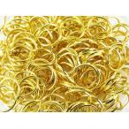 ショッピングストラップ 金具 丸カン ゴールド 8mm 200個 マルカン 金 アクセサリー キーホルダー ストラップ パーツ 金具 丸環 (AP0157)
