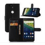 Google/Huawei Nexus 6P ネクサス 手帳型 ケース スタンド レザーデザイン カード 収納 ポケット ハードケース