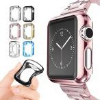 Apple Watch 保護カバー アップルウォッチ TPUケース 耐衝撃 柔らかい 簡単取付 柔軟 光沢 42/38mm おしゃれ