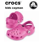 代引き不可商品 アウトレット セール クロックス CROCS kids cayman キッズケイマン フューシャピンク