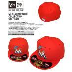 ニューエラ NEW ERA【59FIFTYマイアミ・マーリンズ】MLBオンフィールド・ベースボールキャップ