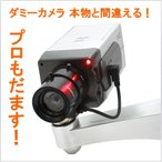 防犯 カメラ Gun1 ダミーカメラ ドーム型 丸型 防犯 ダミー 防犯カメラ 監視カメラ 威嚇 LED点灯 ダミーカメラ 防犯ダミー 本物と間違える◆送料無料 1ヶ月保証