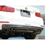 ARQRAY MOTOR SPORT Rear Diffuser BMW F30/31 320i/328i SEDAN & TOURING QUAD Tail Carbon Type 803AMS06