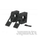 「Original Quick Fist Clamp / オリジナル クイックフィスト クランプ(2個入り) 【直径:25mm-57mm 対応】ラバー製 ツール壁面取付クランプ」の画像