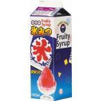 かき氷シロップ-グレープ-合成甘味料保存料不添加、1000mL_ハニー製