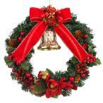 クリスマスリース 25cm レッド  玄関 おしゃれ 北欧 手作り