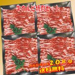 肉  バーベキュー 食材 牛肉 焼肉セット バーベキュー 肉 BBQ 肉 カルビ バラ バーベキューセット 食材 BBQ食材セット BBQ 焼肉 牛丼 2kg 6〜8人前