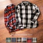 チェックシャツ トップス レディース 羽織り ボックスボタン C3438