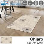 玄関マット ラグマット 屋外 室内 洗える 滑り止め Chiaro 70 x 120 cm