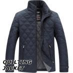 キルティングジャケット メンズ おしゃれ ブランド 無地 柄 黒 ジャケット アウター シンプル 大きいサイズ 秋 冬 17amj265w 新生活