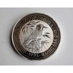 純銀製 銀貨 オーストラリア 1992 ワライカワセミ 30ドル 1Kg