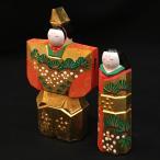 一刀彫 雛人形 神泉作 立雛3号 奈良人形