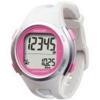 ヤマサ 腕時計 ウォッチ 万歩計 DEMPA MANPO ホワイト×ピンク TM-500(W/P) TM-500WP