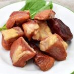 おつまみ 美味しい 鹿児島黒豚 スモーク 角切り 120g 手作り 燻製 加工肉 六白黒豚