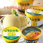 レモン牛乳 アイス(6個)+中山かぼちゃアイス(6個) 栃木ご当地アイス 詰合せ お土産 冷凍(送料無料)