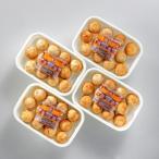 九条ねぎのたこ焼きセット 30g×12個入(ソース付) 4トレーセット KT-35 冷凍 (送料無料) 直送