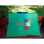 布絵本 知育絵本 知能開発レッスンブック   My  ANIMAL ABC bag        英語刺しゅう版         英語教育 幼児教育