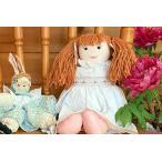 布おもちゃ  布人形 アンジェラドール&カントリーバニー プリティギフトセット  幼児教育