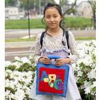 布絵本  英語ABC  MY ABC BAG  刺しゅう版  知能開発レッスンブック  英語教育 幼児教育