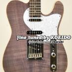 エレキギター Aria ProII 615-AE200 LV クリップチューナー&スペア弦付き)