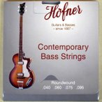 HOFNER 1133CR Contemporary Violin Bass Strings Round Wound